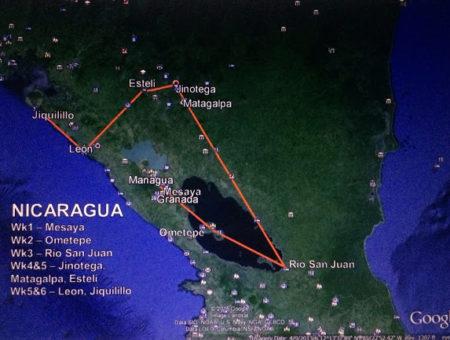 Up next: Nicaragua