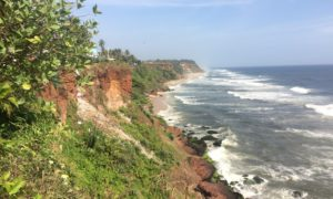 Relaxing in Varkala
