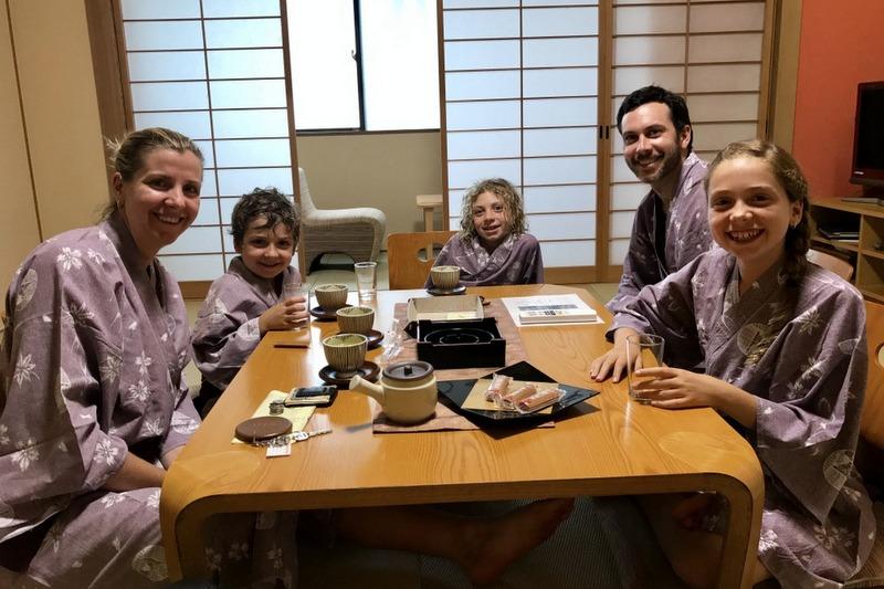 Staying at a ryokan