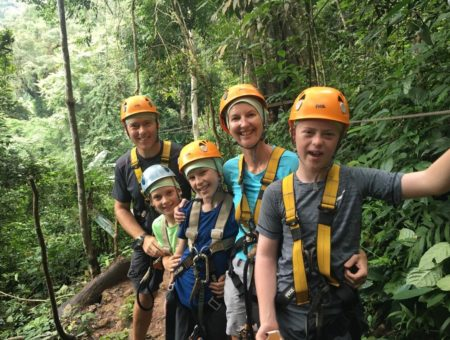 Round-the-World Travel With Kids