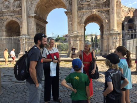 Experiencing Rome with Kids: Tapsy Tour Review