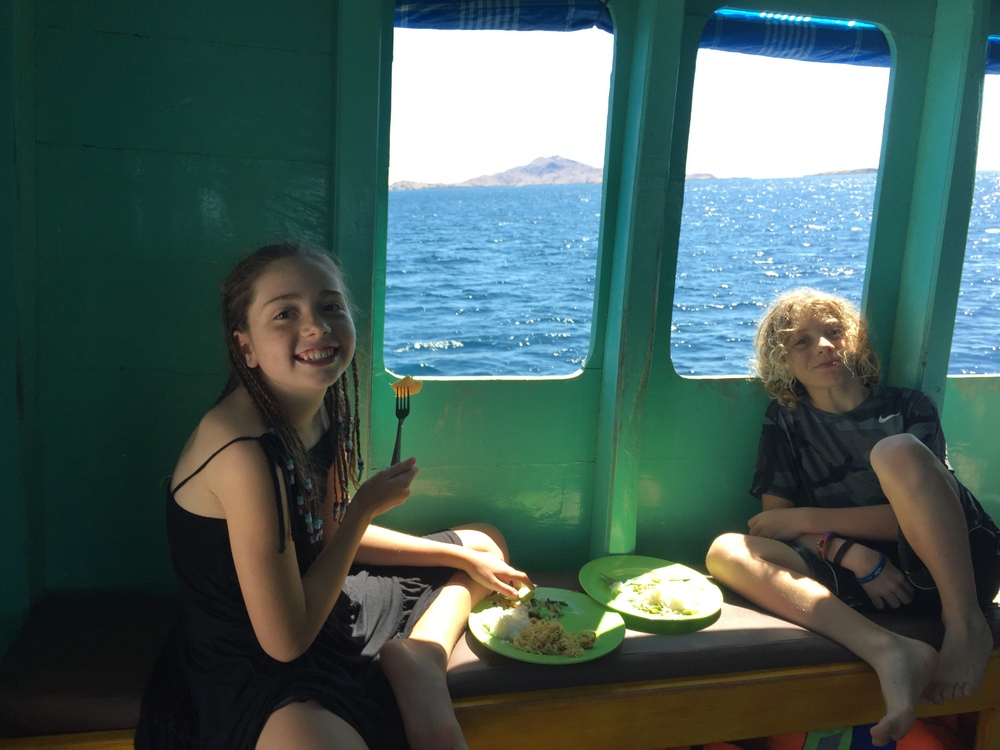 Exploring Komodo: Flores to Lombok Boat Trip with Kids - 5 Lost Together