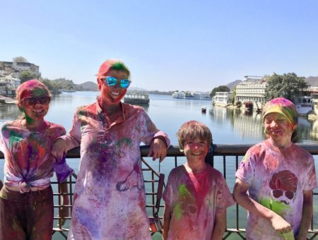 Celebrating Holi with Kids in India